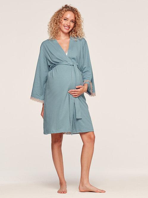 BELABUMBUM  Maternity Plume Robe
