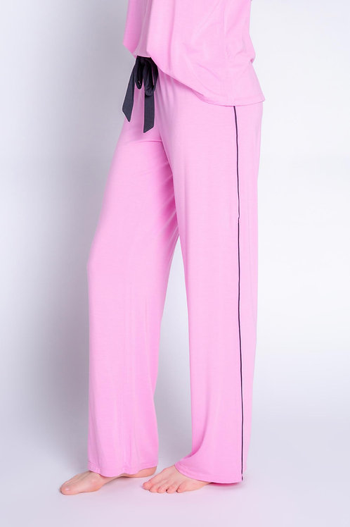 PJ SALVAGE | Tropical Modal Pant in Lilac Rose