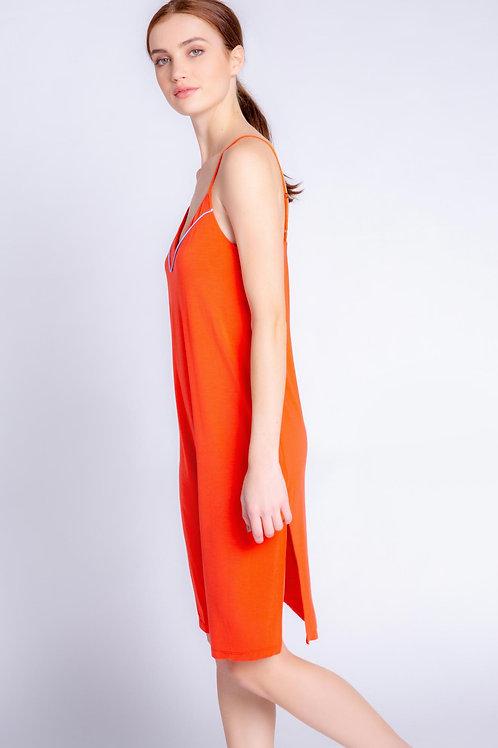 PJ SALVAGE | Tropical Modal Dress Fire