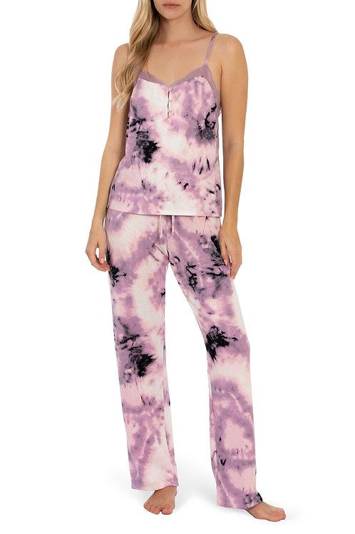 MIDNIGHT BAKERY | Sunny Cami and Pant Set Purple Black