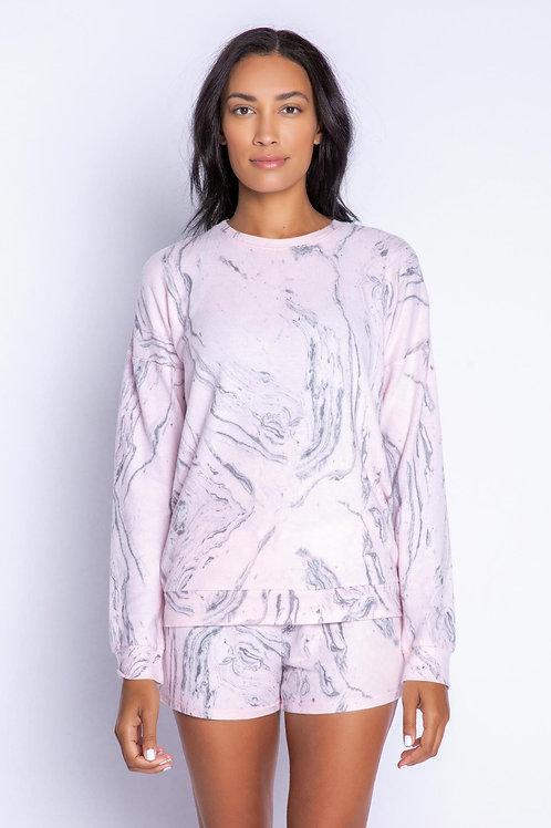 PJ SALVAGE | Marble Sweater