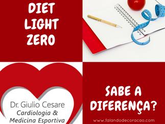 Sabe a diferença entre diet, light e zero?