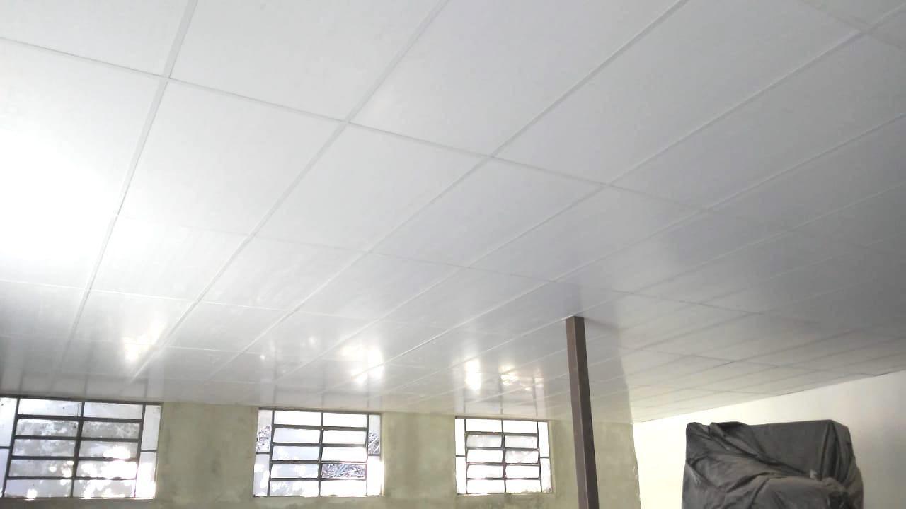 Forro em PVC Modular