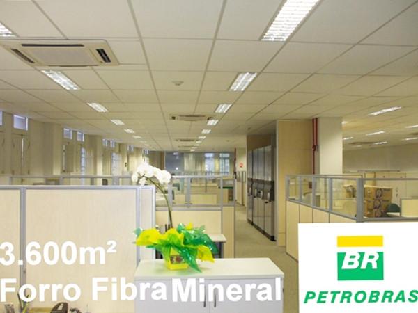 Forro em Fibra Mineral