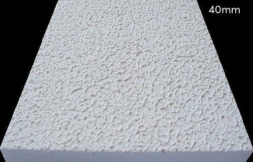 Placa de Isopor - Branca - Texturizada