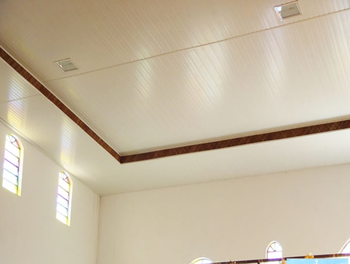 Forro em Lâmina -  PVC Duplo