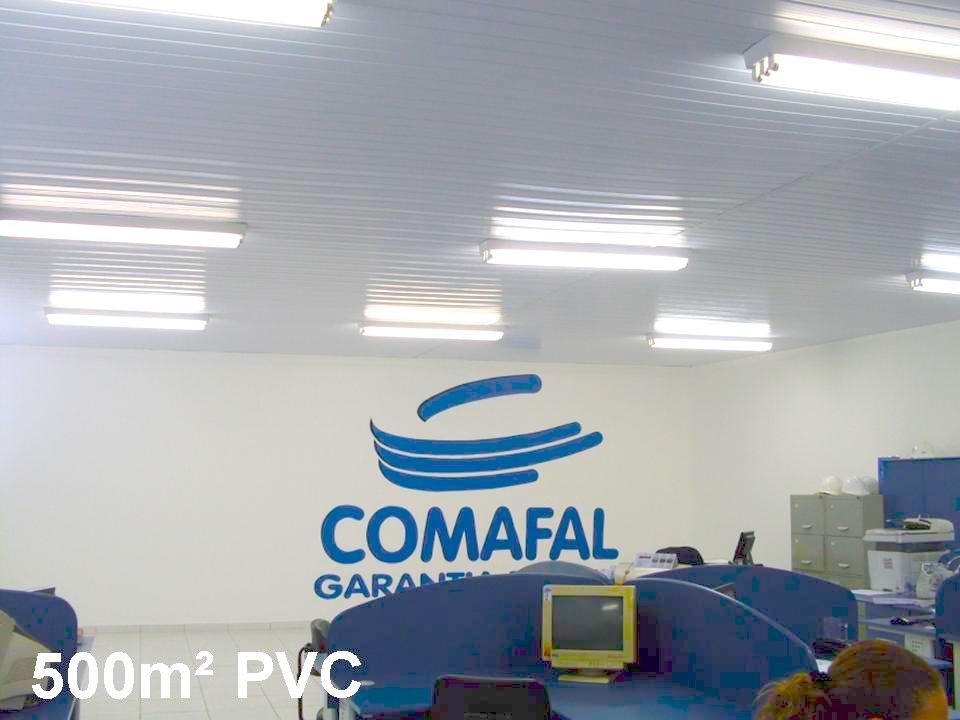 Forro em Lâmina - PVC Frisado