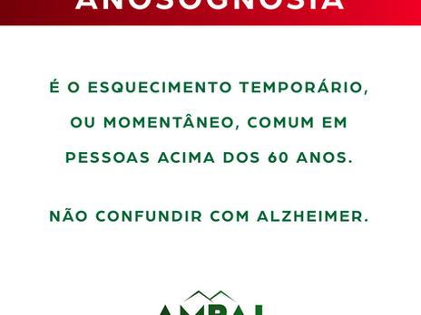 O que é ANOSOGNOSIA?