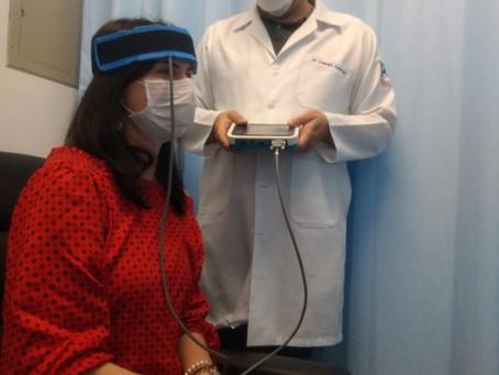 USP oferece tratamento de fotoneuromodulação para sintomas negativos da esquizofrenia