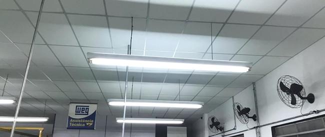 Forro tradicional modular em isopor