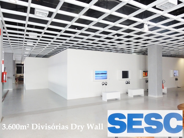 Divisórias em Dry Wall para escritórios e galpões
