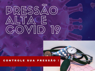 Pressão arterial e Covid-19