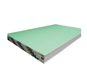 Placa de Gesso Acartonado - Verde