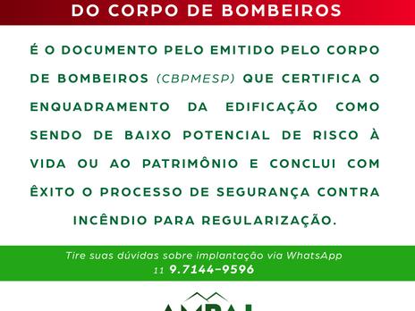 CLCB - Certificado de Licença do Corpo de Bombeiros