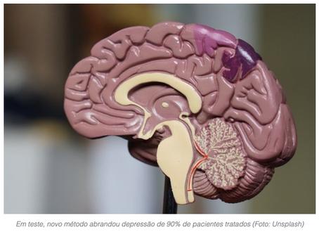 Tratamento para depressão reduziu sintomas de 90% dos pacientes em testes