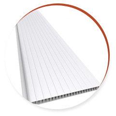 Placa de Forro de PVC Frisado - 7x200x6000mm