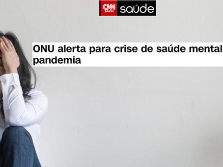 ONU alerta para crise de saúde mental diante de pandemia