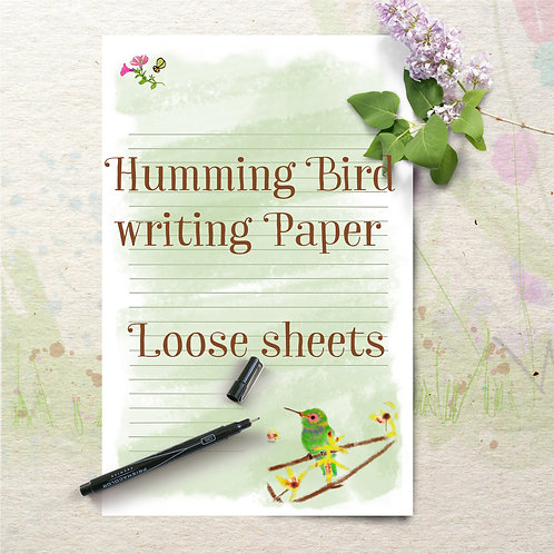 writing paper pages
