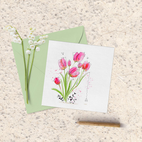 Tulip Spider!