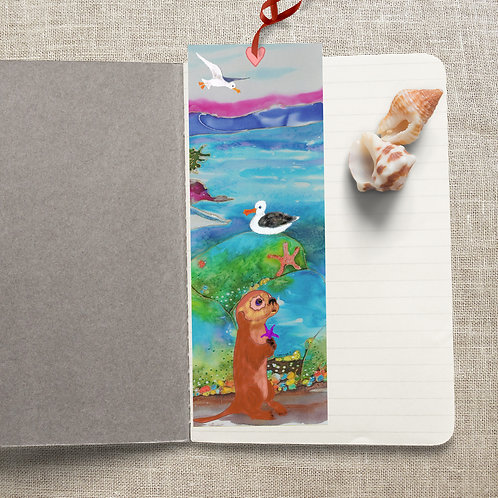 Otter at the Beach, BookMark