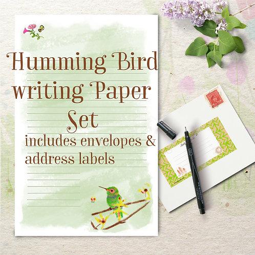 stationery writing set