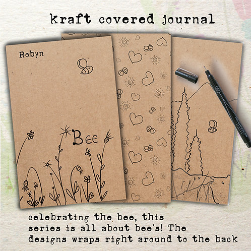 handmade journals and notebooks