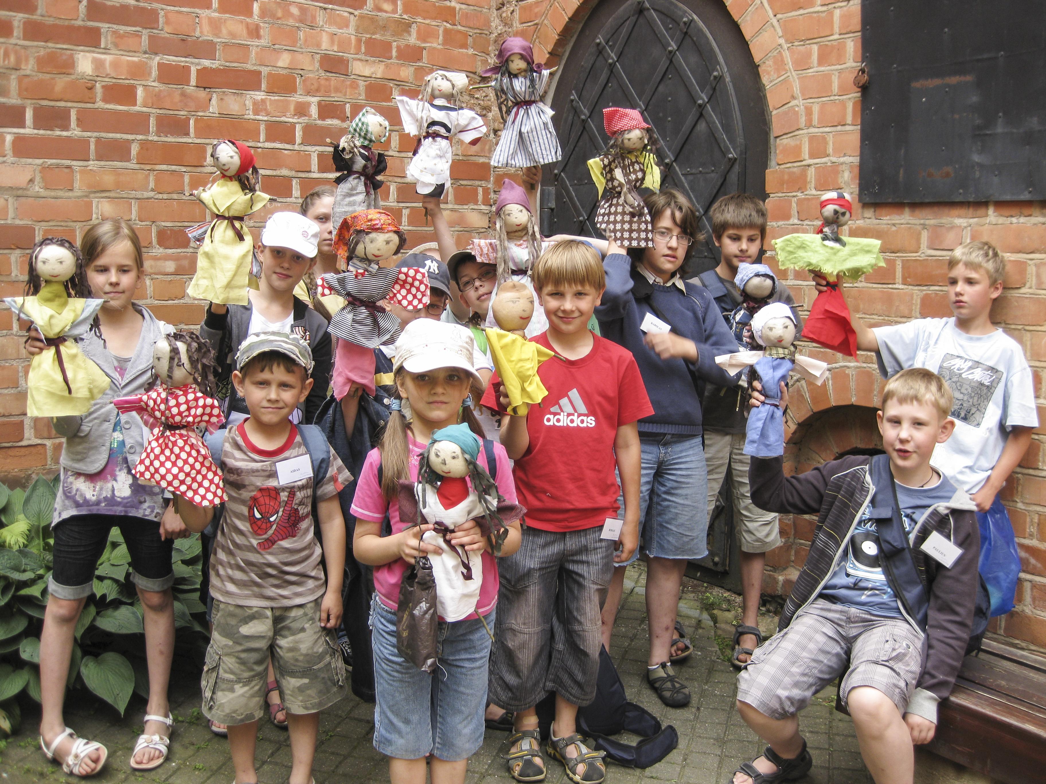 Vilniaus senamiestis ir vaikų stovykla