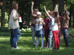 Žaidimai - vaikų stovykloje