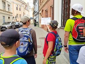 Dingusio Vilniaus beieškant