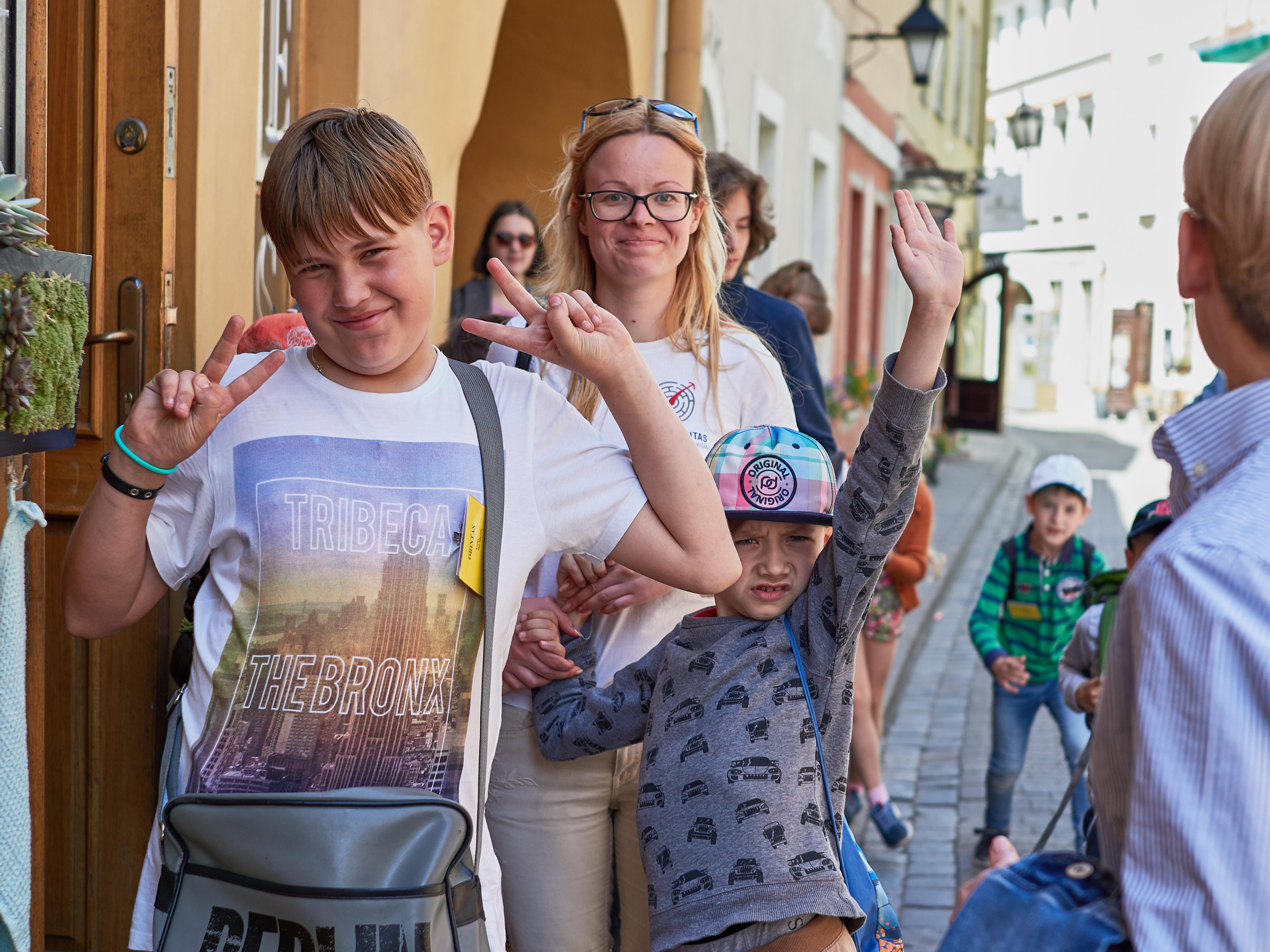 Vilniaus senamiesčio vaikų stovykla