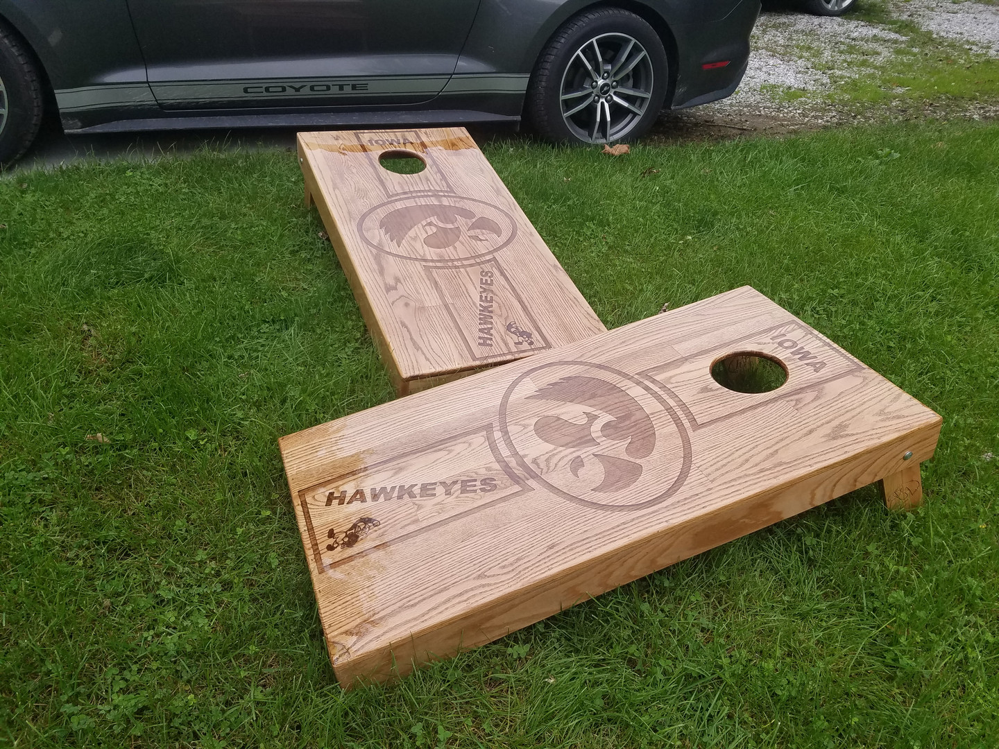 Custom Corn Hole Boards