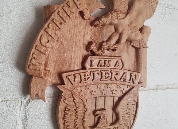 Veteran Plaque
