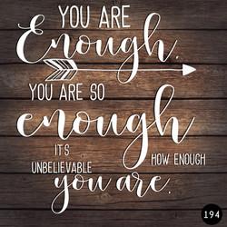 194 ENOUGH