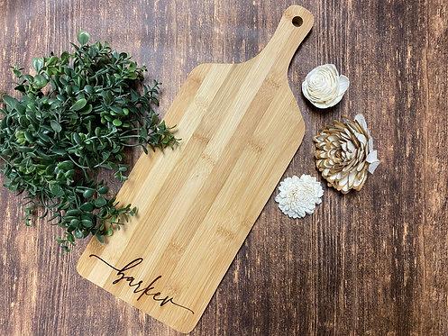 Bamboo Cheese Charcuterie Cutting Board