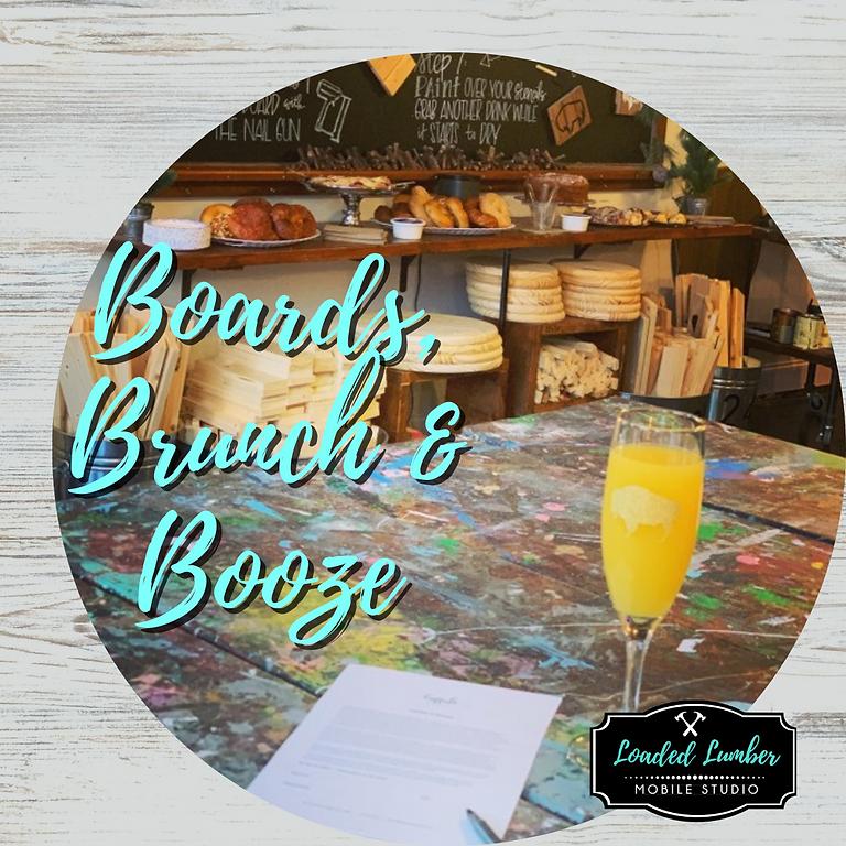Boards, Brunch & Booze- June 27th 10a-1p