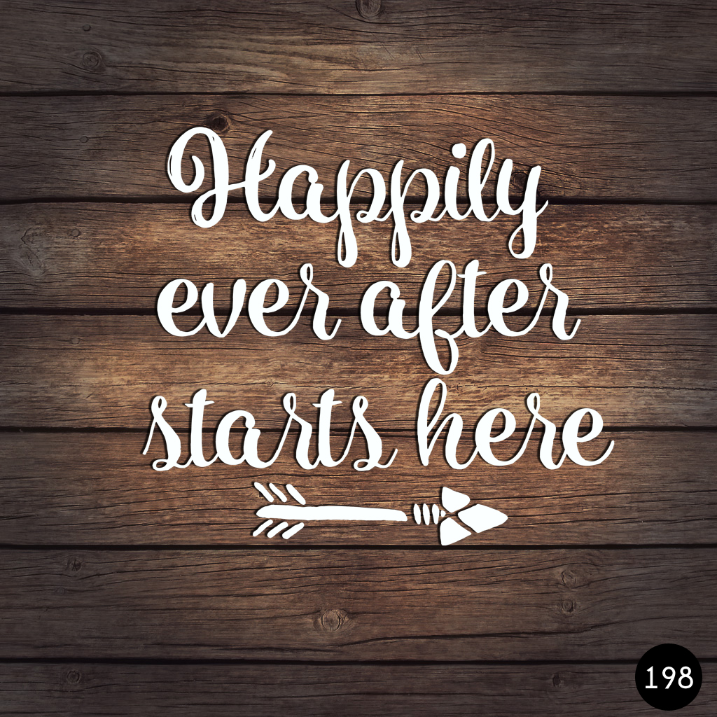 198 HAPPILY EVER AFTER