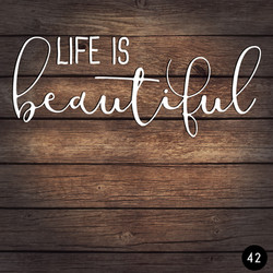 42 LIFE IS BEAUTIFUL