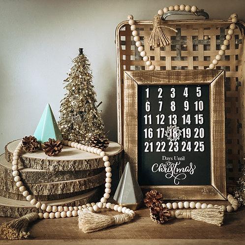 Days Until Christmas DIY Kit