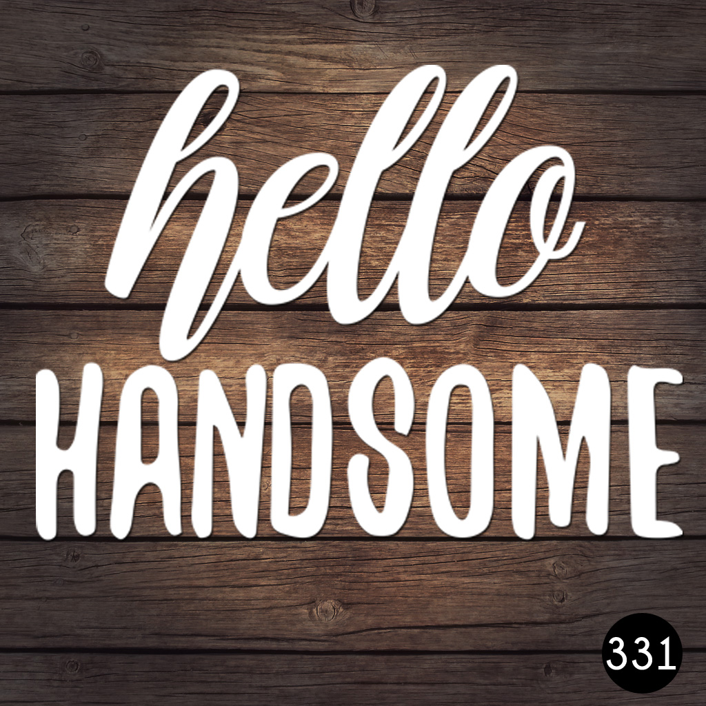 331 HELLO HANDSOME