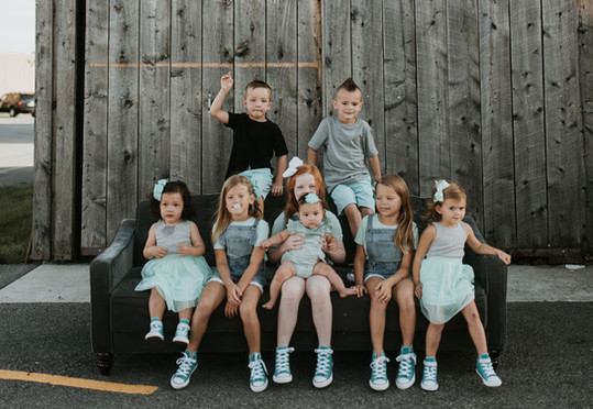 A whole lot of kids