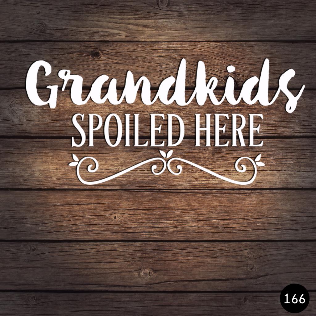 166 GRANDKIDS