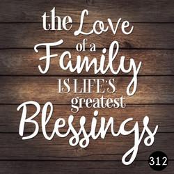 312 BLESSINGS