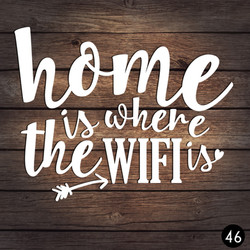 46 HOME WIFI IS