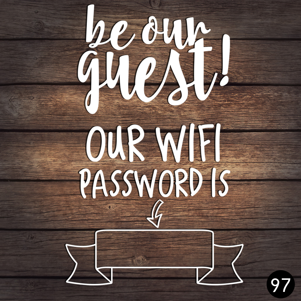 97 WIFI PASSWORD