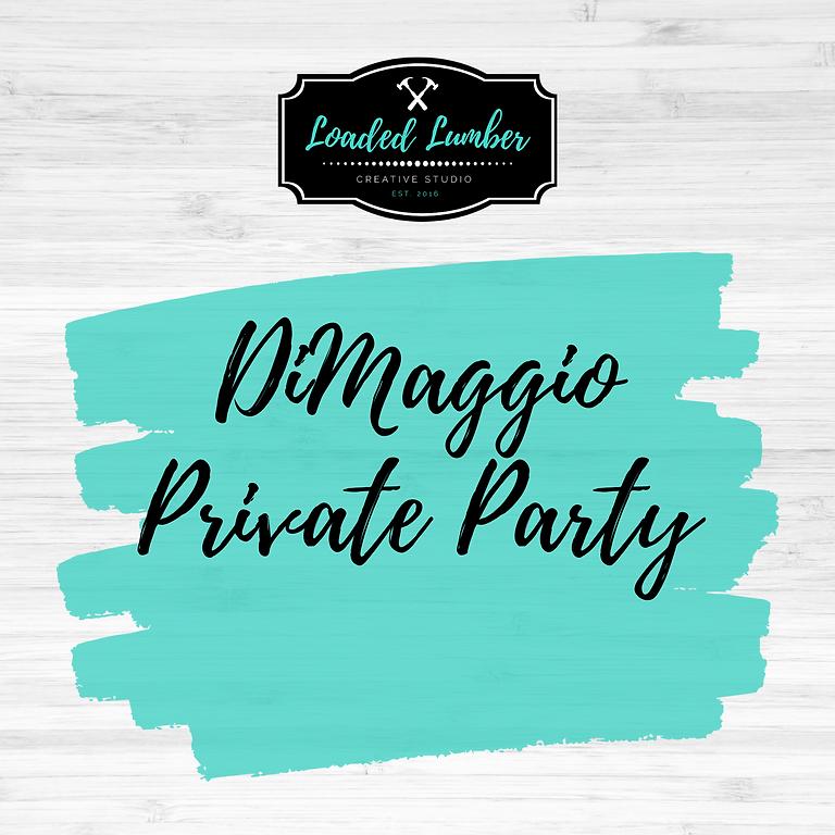 DiMaggio Private Party-  Sept 26th 2-5p