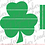 Thumbnail: Ship Lap Shamrock SVG