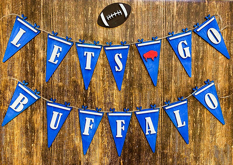 Let's Go Buffalo Banner DIY Kit