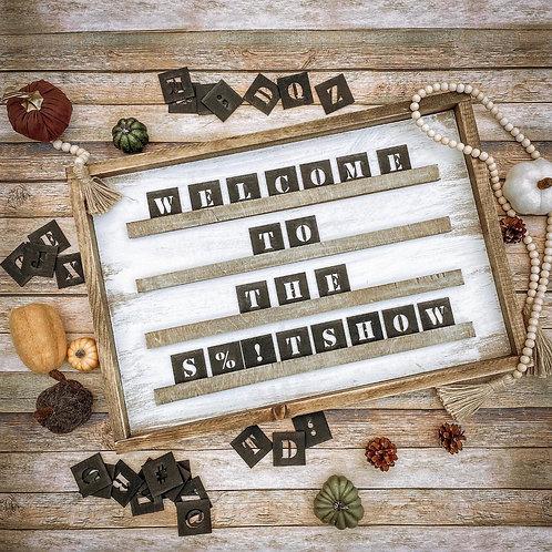 D.I.Y Letterboard Kit