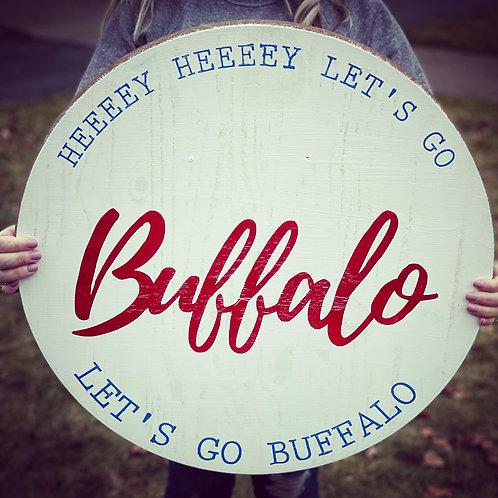 Let's Go Buffalo Circle DIY KIT