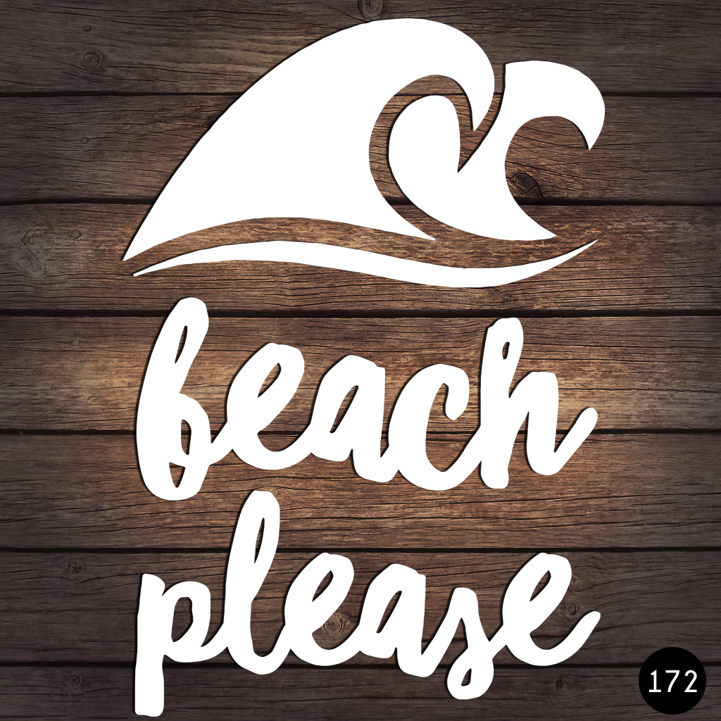 172 BEACH PLEASE